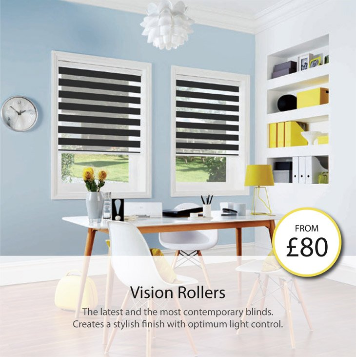 the latest and the most contemporary blinds. creates a stylish finsih with optimum light control.