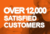 Over 12,000 Satisfied Customers
